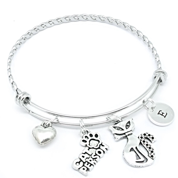 Cat Charm Bracelet Ideal Gift For Cat Lover